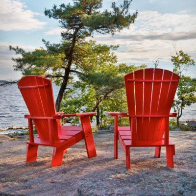 Underhållsfri däckstol som du kan ha utomhus året om